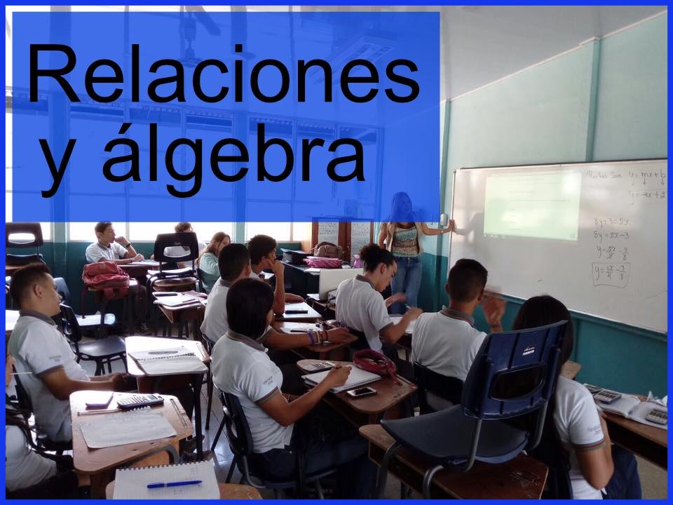 Relaciones y álgebra